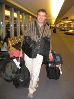 dad luggage Homeschool Vacation Adventures!