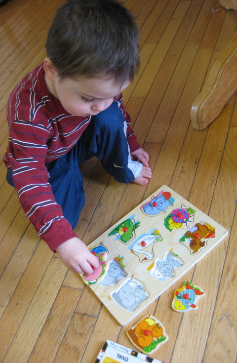 toddler puzzle homeschoolbytes My Best Toddler Busy Idea After Having Five Kids