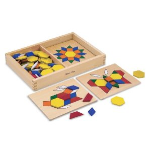 Melissa and Doug Pattern Blocks 50% off Melissa and Doug Today   Great Learning Toys