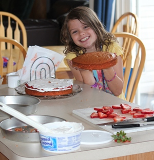 cake homeschoolbytes Homeschool Blog Carnival   Creativity Edition