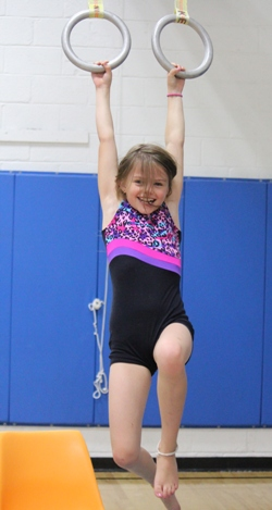 gymnastics homeschoolbytes Homeschool Blog Carnival   Creativity Edition