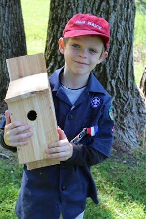 cub scout birdhouse homeschoolbytes Scouting: a Fun Addition to Homeschooling Life