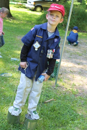 cub scout puddle jumpers homeschoolbytes Scouting: a Fun Addition to Homeschooling Life